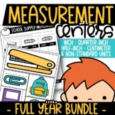 Year-Round Measurement Centers {Inch, Half Inch, Quarter Inch, or Centimeter}