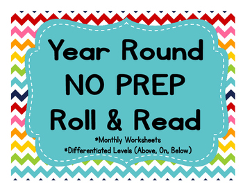 Year Round NO PREP Roll and Read Center