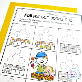 Year Round Number Bond Print and Go