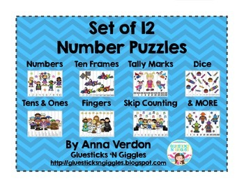 Year Round Number Puzzles