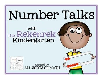 NUMBER TALKS with the REKENREK (Kinder Edition)