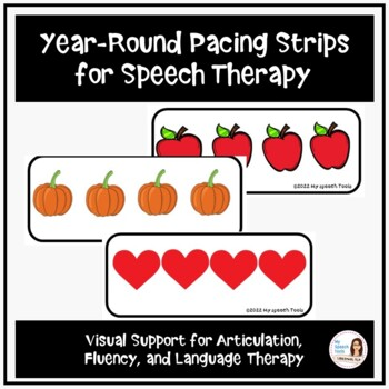 Year-Round Pacing Boards for Speech Therapy