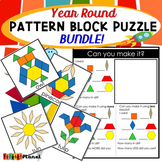 Year Round Seasons Pattern Block Mat Puzzle Bundle!