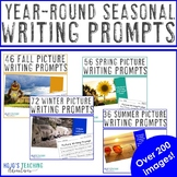 Year Round Picture Writing Prompts BUNDLE: Includes Halloween Picture Prompts