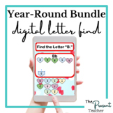 Year-Round Primary Digital Find the Letter Activities