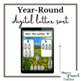 Year-Round Primary Digital Sort the Letter Google Slides A