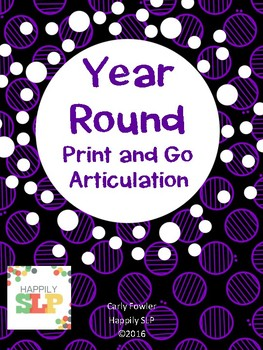 Year Round Print and Go Articulation