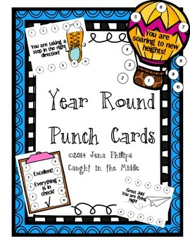 Year Round Punch Cards