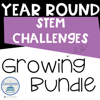 STEM Challenges BUNDLE Challenges for the Whole Year