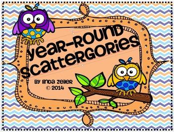 Year Round Scattergories