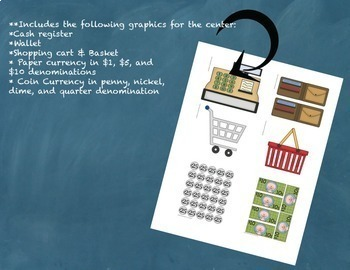 Money Math Center Bundle