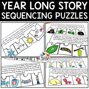 Year Round Short Story Sequencing Jigsaws