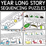 Sequencing Stories with Pictures Year Long Bundle