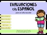 Year-Round Spanish Assessments (K-2nd)