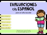 Year-Round Spanish Assessments (K-2nd)