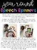 Year Round Speech Spinners