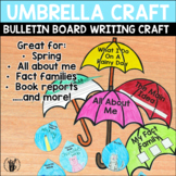 Umbrella Writing and Craft
