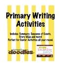 FREE Year Round Writing Activities- Primary