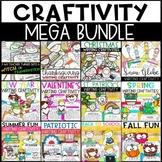 Year-Round Writing Craftivities Growing Bundle