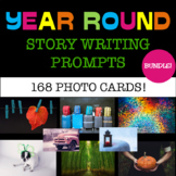 Year Round Writing Prompts - BUNDLE - Photo Writing Prompts