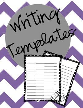 Year Round Writing Templates
