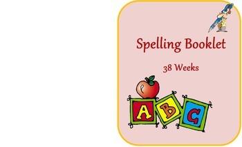 Year Spelling Booklet