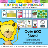 Editable Year Two Math Warm-ups Australian Curriculum Alig