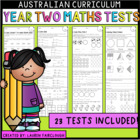 Year Two Maths Tests