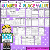 Year Two Number and Place Value  Worksheet Mega Pack