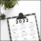 2018 Year at a Glance Calendar (FREE UPGRADES)