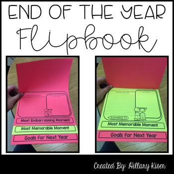 End of the Year Flipbook