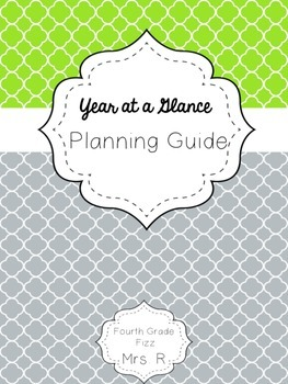 Year at a Glance Planning Guide