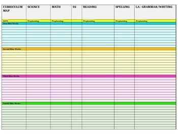 Year at a Glance Planning Template