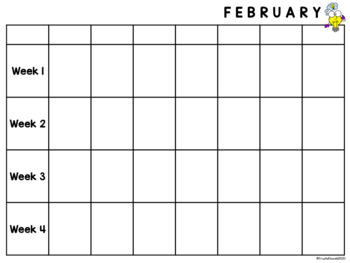 Year at a Glance planning calendars EDITABLE