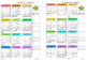 Year at a glance Calendars - Teacher and student!