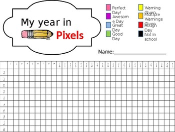 picture relating to Year in Pixels Printable identified as Yr Within Pixels Worksheets Instruction Materials TpT