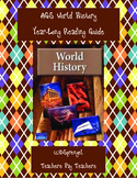 AGS World History Reading Guides Year-Long (2008)