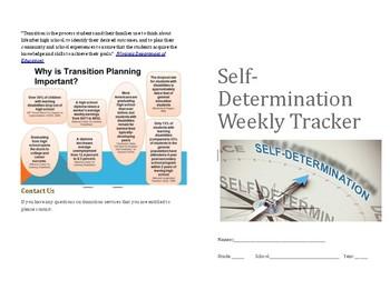 Year long Self-Determination task tracker planner