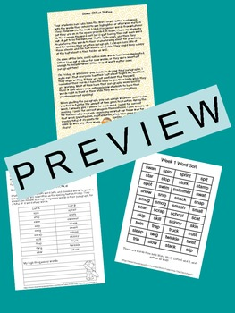 Spelling and Word Work Bundle 3rd Grade (Yearlong!)