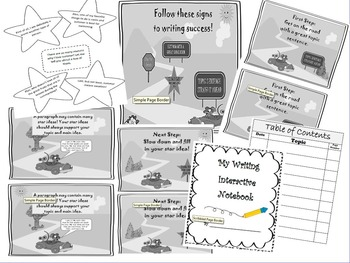 Year long Tool: 3rd CCSS Grade Writing Interactive Notebook ~ AWESOME