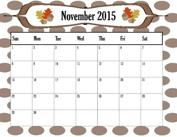 Year long  planning 10 month calendar 2016-2017