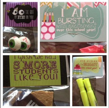 Year long treat bag toppers for EVERY Holiday, back to school, and summer break