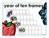 Year of 10 Frames - Counting School Days