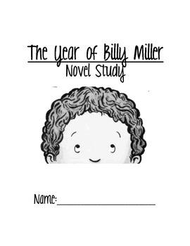 Year of Billy Miller Novel Study