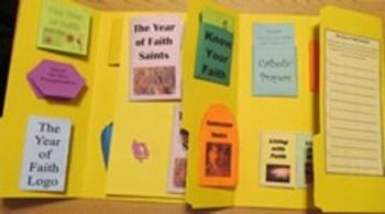 Year of Faith Catholic Lapbook