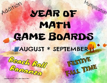 Year of Game Boards - August/ September