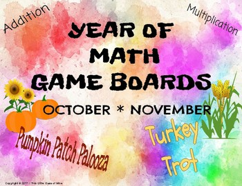 Year of Game Boards - October/ November