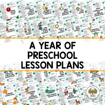 Year of Lesson Plans for Preschool, Pre-K and Tots