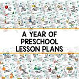 Year of sample Preschool Lesson Plans- Free