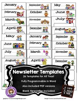 original-807081-2 Newsletter Templates For Free Pdf on microsoft word, christmas family, preschool classroom,